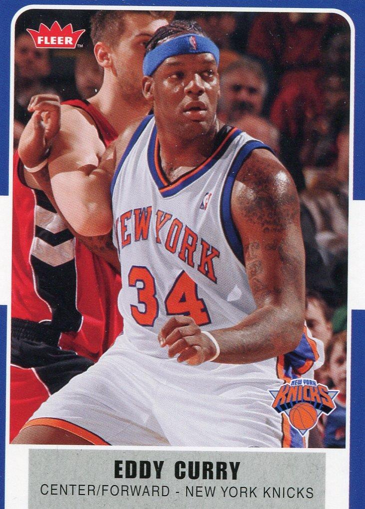 2007 Fleer Basketball Card #76 Eddy Curry