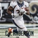 2015 Prestige Football Card #160 C J Anderson