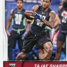 2016 Score Football Card #375 Tajae Sharpe