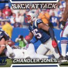 2016 Score Football Card Sack Attack #1 Chandler Jones