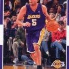 2007 Fleer Basketball Card #155 Jordan Farmar
