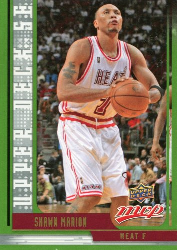 2008 Upper Deck MVP Basketball Card SE #30 Shawn Marion