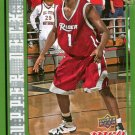 2008 Upper Deck MVP Basketball Card SE #72 Jason Thompson