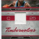 2009 Absolute Basketball Card Tools of the Trade #2 Al Jefferson