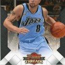 2009 Threads Basketball Card #13 Deron Williams