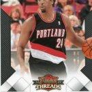 2009 Threads Basketball Card #39 Andre Miller