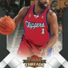 2009 Threads Basketball Card #50 Baron Davis