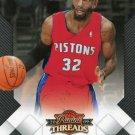 2009 Threads Basketball Card #54 Richard Hamilton