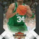 2009 Threads Basketball Card #30 Paul Pierce