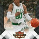 2009 Threads Basketball Card #73 Ray Allen