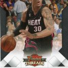2009 Threads Basketball Card #100 Michael Beasley