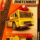 2014 Matchbox #72 2006 Fire Engine