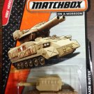 2014 Matchbox #101 Tan Blockade Buster