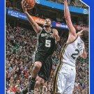 2015 Hoops Basketball Card Blue Parallel #207 Corey Joseph