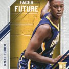 2015 Hoops Basketball Card Faces of the Future #4 Myles Turner
