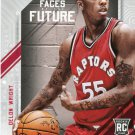 2015 Hoops Basketball Card Faces of the Future #14 Delon Wright