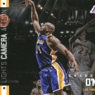 2015 Hoops Basketball Card Lights Camera Action #16 Shaquille O'Neal