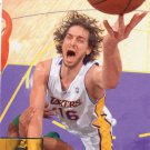 2009 Upper Deck Basketball Card #80 Pau Gasol