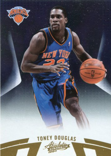 2010 Absolute Basketball Card #87 Toney Douglas