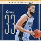 2010 Classic Basketball Card #11 Marc Gasol