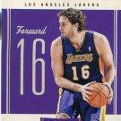 2010 Classic Basketball Card #19 Pau Gasol