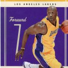 2010 Classic Basketball Card #20 Lamar Odom