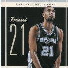 2010 Classic Basketball Card #6 Tim Duncan