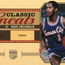 2010 Classic Basketball Card Greats #3 Nate Archibald