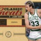 2010 Classic Basketball Card Greats #16 Larry Bird
