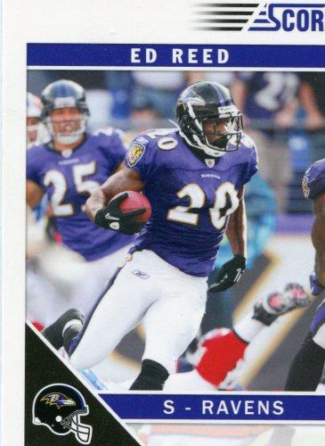 2011 Score Football Card #22 Ed Reed
