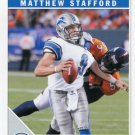 2011 Score Football Card #98 Matthew Stafford