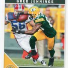 2011 Score Football Card #107 Greg Jennings