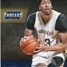 2015 Threads Basketball Card Precision Players #4 Anthony Davis
