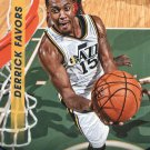2014 Threads Basketball Card #48 Derrick Favors