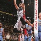 2014 Threads Basketball Card #92 Jonas Valanciunas