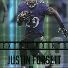 2015 Prestige Football Card Extra Points Green #60 Justin Forsett