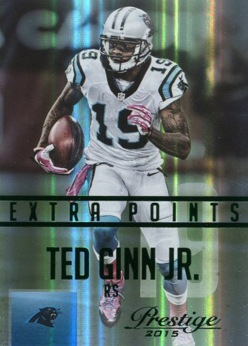 2015 Prestige Football Card Extra Points Green #140 Ted Ginn Jr