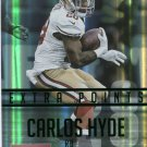 2015 Prestige Football Card Extra Points Green #198 Carlos Hyde
