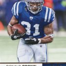 2012 Absolute Football Card #21 Donald Brown