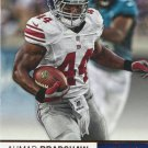 2012 Absolute Football Card #68 Ahmad Bradshaw