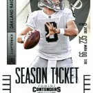2014 Panini Contenders Football Card #72 Matt Schaub