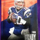 2014 Prestige Football Card #13 Tom Brady