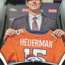 2015 Rookies & Stars Football Card #165 Jeff Heuerman