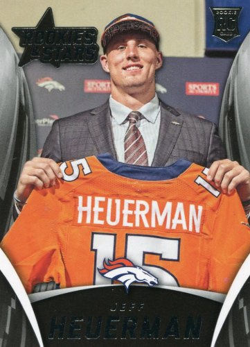 2015 Rookies & Stars Football Card #165 Jeff Heuerman