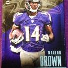 2014 Prestige Football Card #28 Marlon Brown