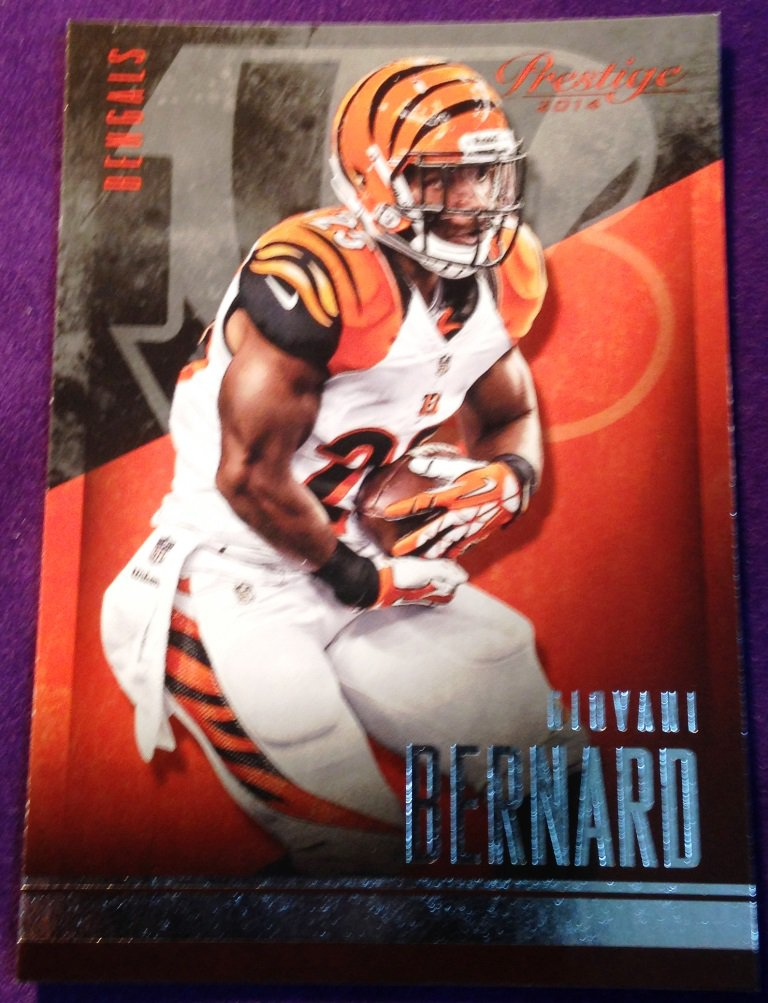 2014 Prestige Football Card #35 Giovanni Benard