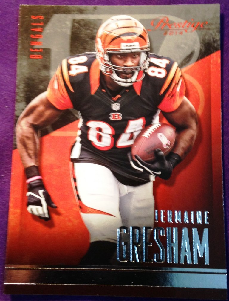 2014 Prestige Football Card #36 Jermaine Gresham