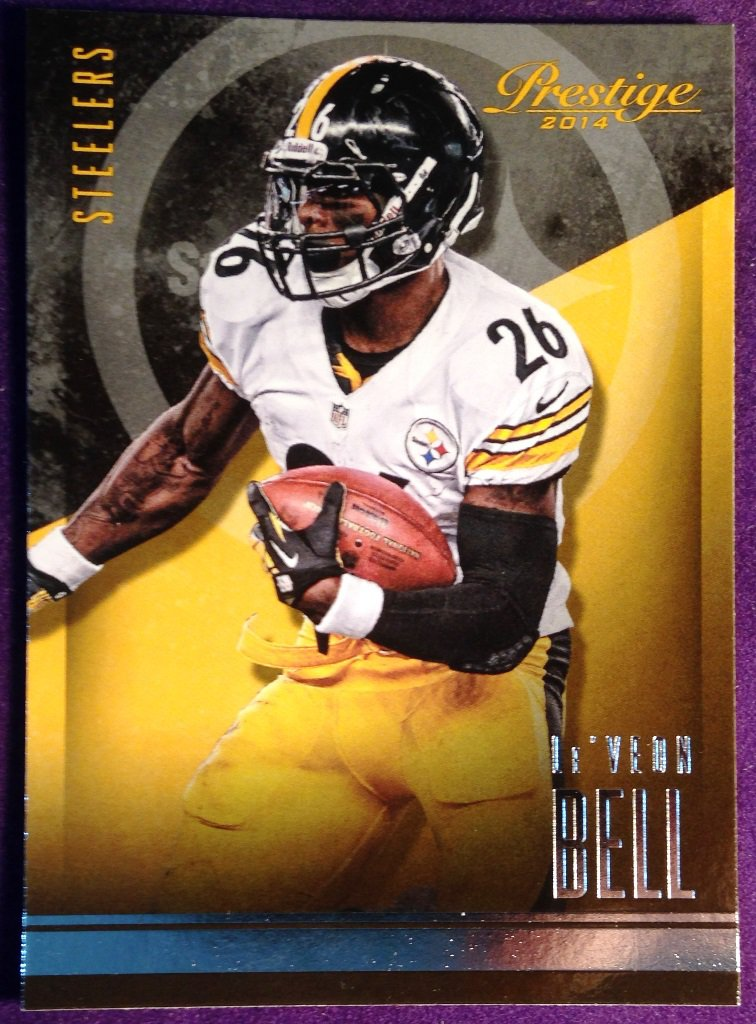 2014 Prestige Football Card #48 LeVeon Bell