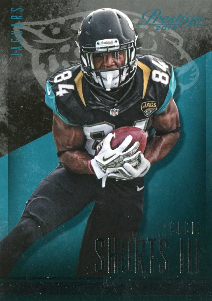 2014 Prestige Football Card #67 Cecil Shorts III