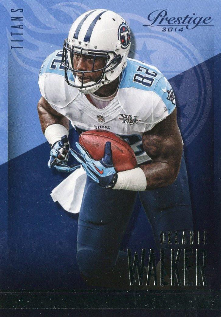 2014 Prestige Football Card #75 Delanie Walker